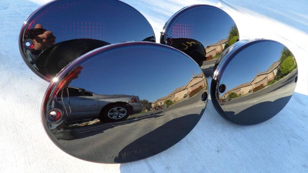 97 04 Corvette C5 Smoked Tail Lights Oem 🔥 Custom Black