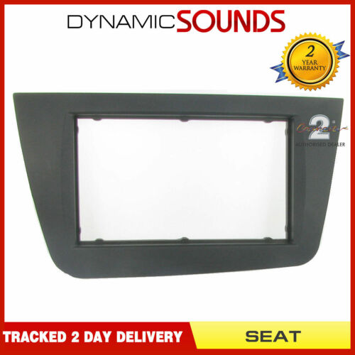 DFP-18-01BK Double Din Stereo Fascia Panel Adaptor For SEAT Toledo Altea