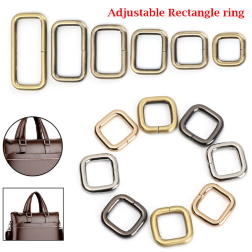 Backpacks Shoes Buttons Belt Ribbon Buckle Collar Buckles Rectangle D Ring