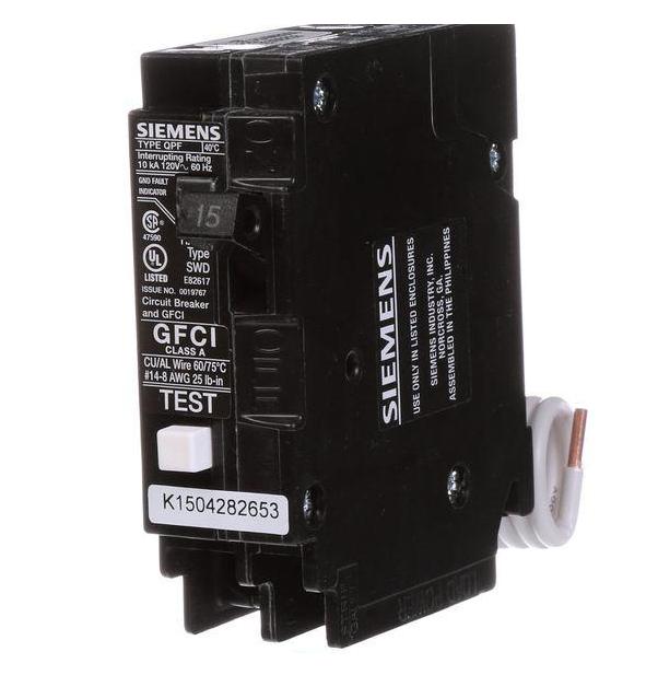 Siemens QF115AP Residential Circuit Breaker for sale online