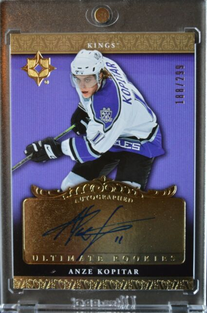 Anze Kopitar 2006-07 Ultimate Collection Auto Rookie RC /299