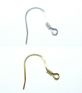 Adaptable 2 Ouverts Ohrhaken Avec œillet (poisson Crochet) Avec Ouvert œillet De 925/argent-afficher Le Titre D'origine