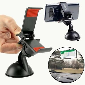Universal Car Windshield Mount 360 Rotation Cell Phone GPS Cradle Holder Stand