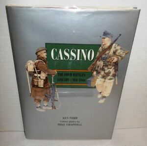 BOOK-Cassino-The-Four-Battles-January-May-1944-op-2001-Color-Plates-by-Chappell