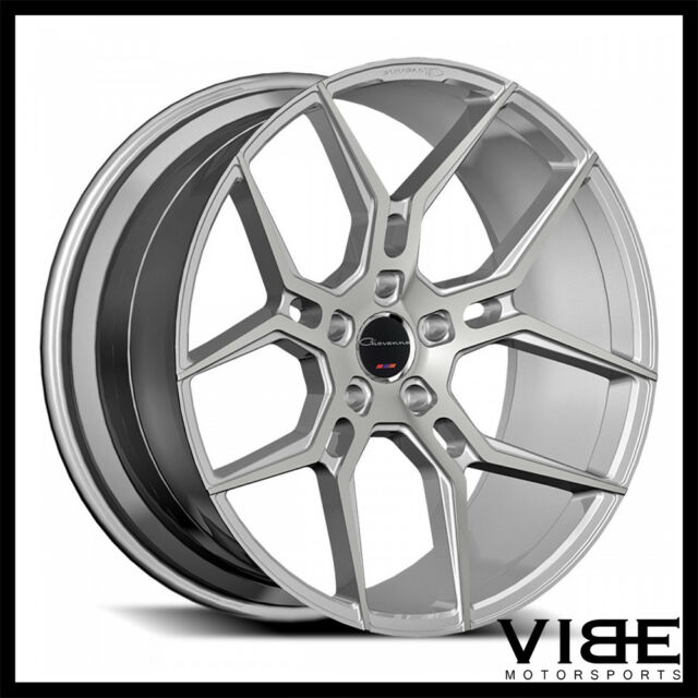 20 Giovanna Haleb Silver Concave Wheels Rims Fits Lexus Is250 Is350