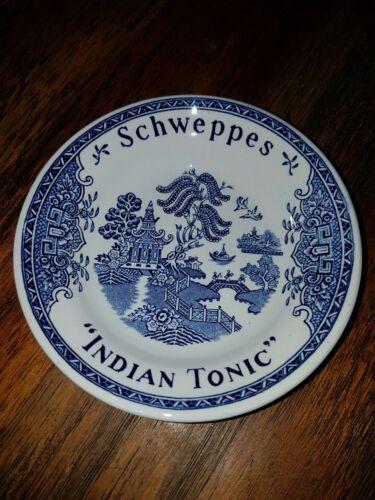 PETITE COUPELLE SCWEPPES INDIAN TONIC PORCELAINE GIEN FRANCE