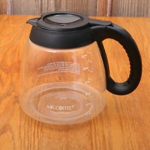 Mr-Coffee-Glass-Replacement-Pot-Carafe-12-Cup-For-Coffee-Maker-Black-Lid-Handle