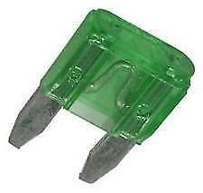 5 x Mini Blade Fuses 30A 30 Amp 11mm x 15mm o//e spec fits LAND ROVER