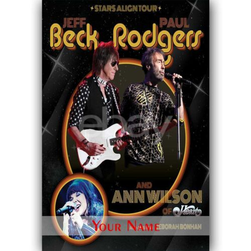 Custom Personalized Beck Rodgers Silk Poster Wall Decor