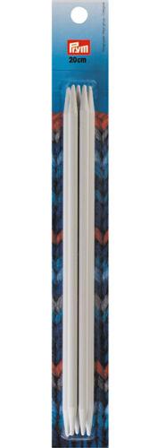 23 cm de long Prym Aiguille Jeu Chaussette Tricot Aiguille Plastique Toutes les tailles 20