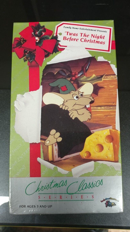 Twas the Night Before Christmas (VHS, 1992) | eBay