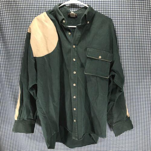 Vintage Steinman Shooting Shirt Button Down Men's