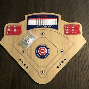 BOOBEE Home Team Baseball Game Chicago Cubs Board Game