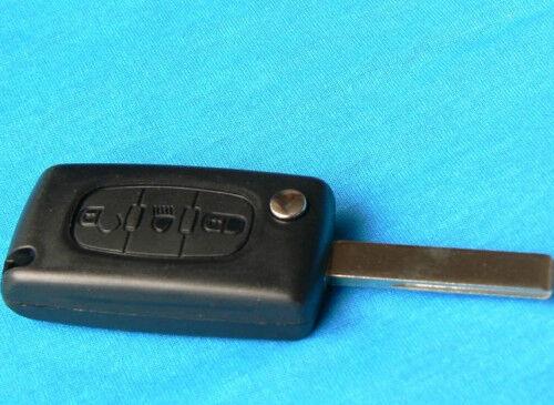 FOR Citroen 3 Button Flip key C2 C3 C4 C5 C6 Light Symbol ref:c3lswg