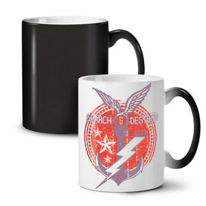 Navy Symbol Vintage NEW Colour Changing Tea Coffee Mug 11 oz | Wellcoda