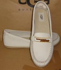UGG Australia Antique White ROZIE SERAPE Moccasin Loafers Size US 8 NIB #1011176