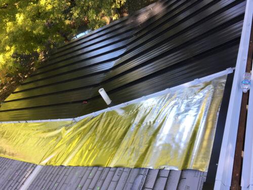 250 sqft Radiant Barrier Grow Room Reflective Solid Mylar Insulation waterproof