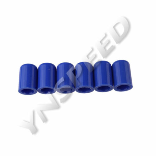 "6PCS 16mm 5//8/"" Blue Silicone Blanking Cap Intake Hose End Bung Plug Silicon Cap"