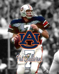 detailed look 1d448 2135f Details about Auburn Tigers PAT SULLIVAN Unsigned Spotlight Photo 8x10 #1  HEISMAN WINNER
