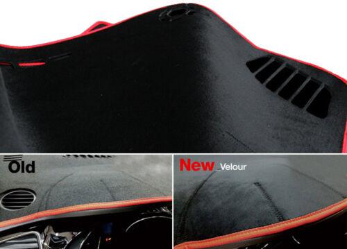 Black Velour Non Slip Dashboard Sun Pad Mat Cover for HYUNDAI 2012-2018 Azera HG