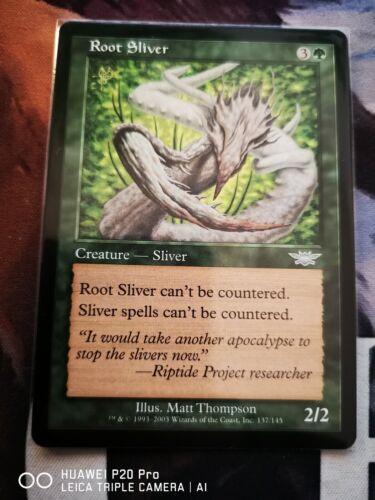 MTG Root Sliver Legions NM