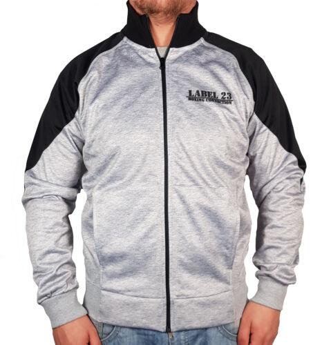 uomo giacca da grigio grigio grigio baseball da fodera Giacca con cerniera con wHxqCX4p