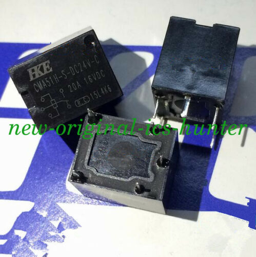 5PCS pieces New CMA51H-S-DC24V-C 20A 24VDC Relay 5pins ORIGINAL