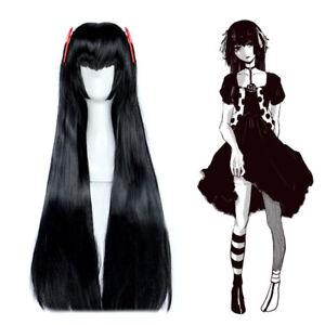 Tokyo Ghoul Re Juzo Suzuya Rei Genderbend Cosplay Wig Black Long