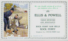 Ellis & Powell Rock Ferry colour illustrated Blotting Paper image by Lawson Wood