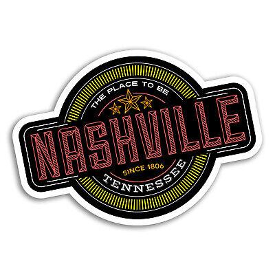 2 x 10cm Tennessee USA Vinyl Sticker Laptop Car Travel Luggage Tag Flag #9453