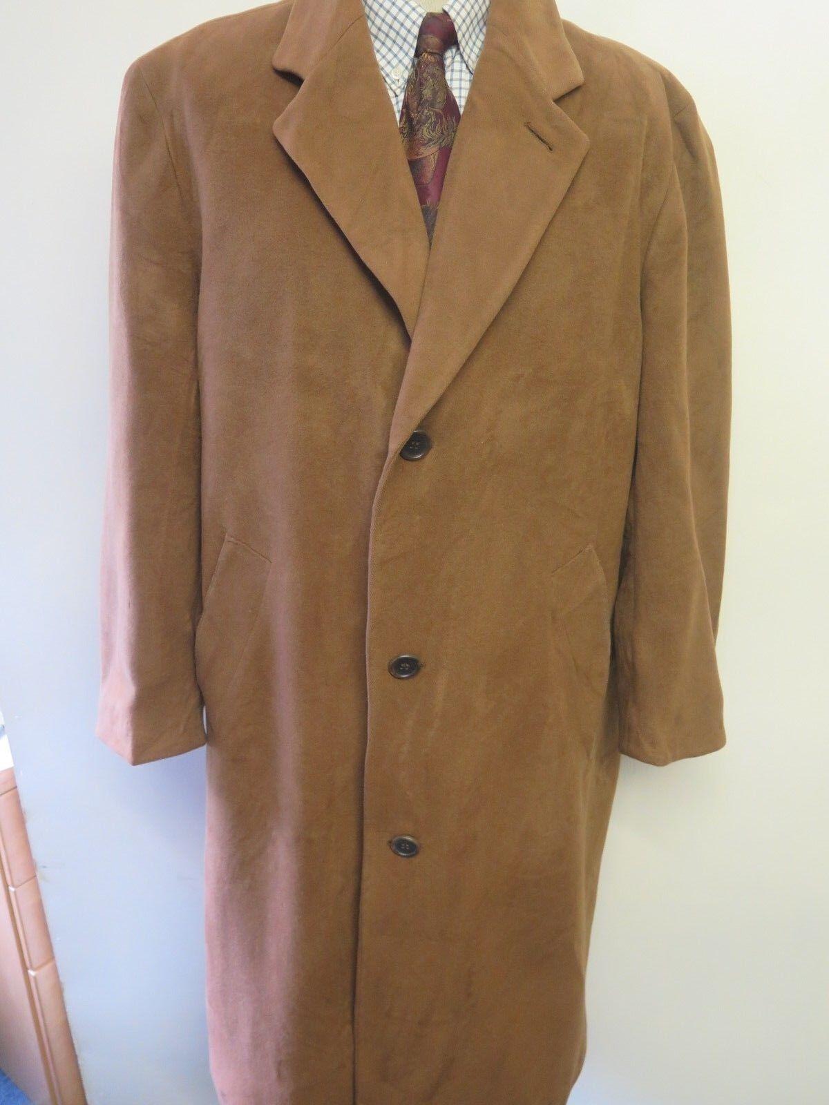 Vintage Hugo Boss Wool Winter Coat Mac Größe L 42-44