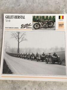 Carte Belgique Herstal.Details Sur Gillet Herstal 720 Ab Armee 1937 Carte Moto Collection Atlas Belgique