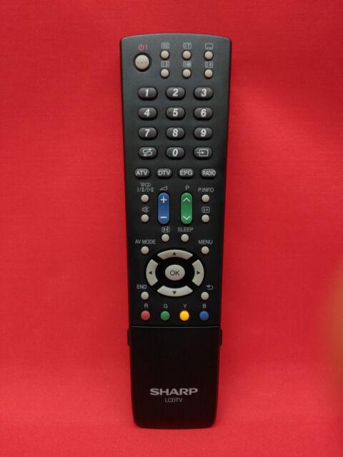 Mando a Distancia Original TV SHARP // LC37DH65E