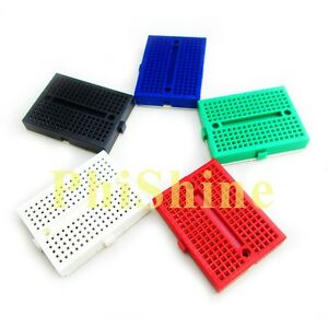 5pcs-SYB-170-Mini-Breadboard-Colorful-Breadboard-Prototype-Board-Small-Plates