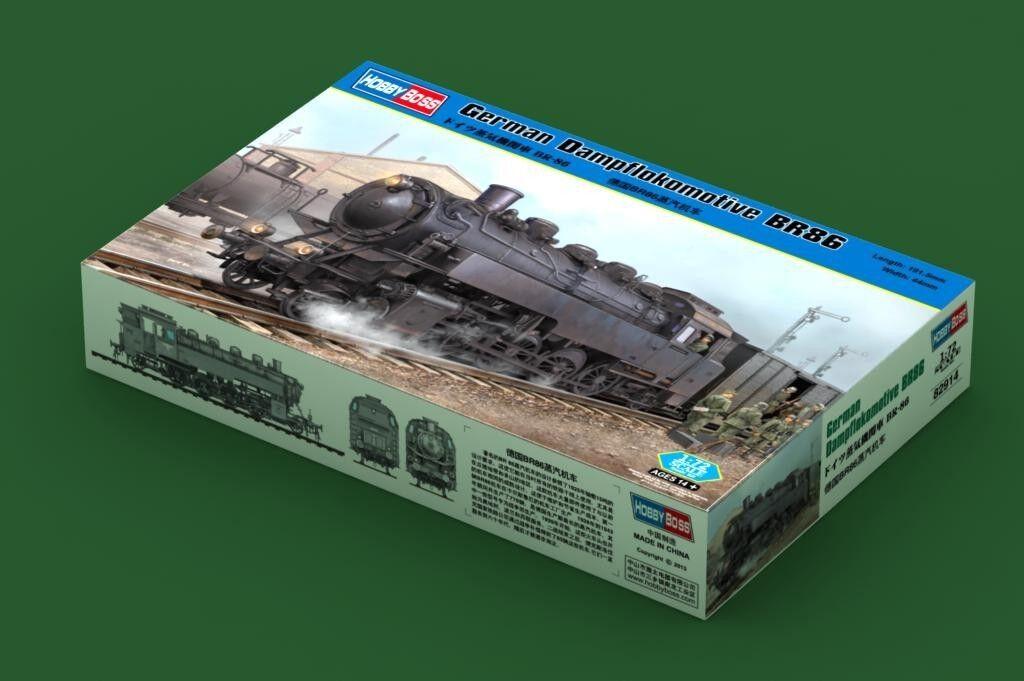 82914 Trumpeter 1 72 Model German BR86 Steam Locomotive Static Plastic Kit