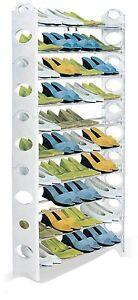 Shoe-Rack-Holds-50-Pairs-1-56m-Tall-Basement-Closet-Space-Saver-Unit-Storage
