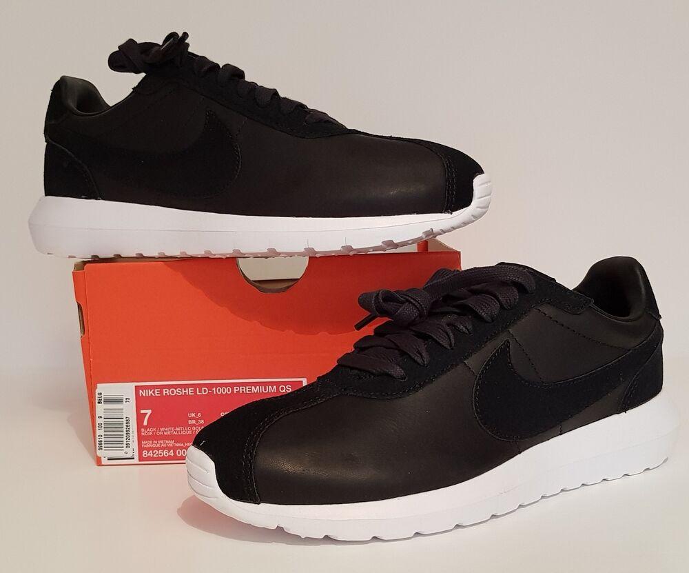 Entièrement neuf dans sa boîte (sans couvercle) homme Nike Roshe LD-1000 PRM QS. Taille UK 6/EU 40/US 7.-