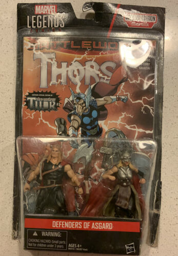 Marvel Legends Series Defenders of Asgard 2-Pack Odinson /& Thor w Comic Book