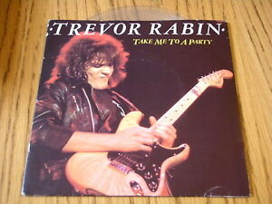 TREVOR-RABIN-TAKE-ME-TO-A-PARTY-7-034-CLEAR-VINYL-PS