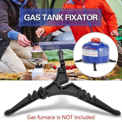 Outdoor Camping Gas Tank Stove Base Holder Cartridge Bus Tripod  Bottle Shelf Su