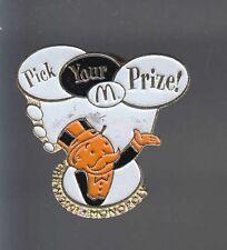 RARE PINS PIN'S .. MC DONALD'S  RESTAURANT MONOPOLY GAMES JEU CREW 2001 ~12
