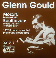 CD GLENN GOULD - Mozart fantasia K396 / Beethoven sonata op. 106