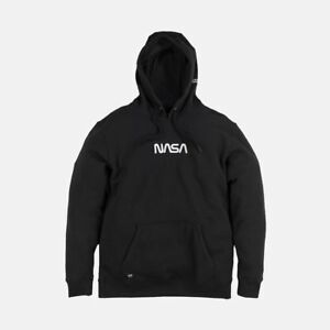 Details about Vans x NASA Hoodie Black Space Voyager Collab Pullover All  NEW RARE S M L XL