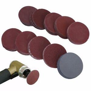 40x P40~P240 50mm Schleifscheiben Sandpapier Schleifpapier mit Schleifteller