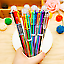 Multi-color 6 in 1 Color Ballpoint Pen Ball Point Pens Kids School