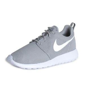acheter populaire dc7d4 1489e Détails sur Nike Roshe Run Homme Gris Pointure 42.5 RCD511881023-42.5