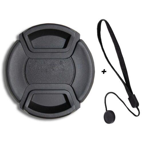 LUMOS Objektivdeckel 62mm Innengriff /& Objektivdeckelhalter Schutz Kappe Ø 62 mm