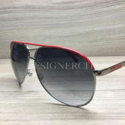 b7d198bd961a Gucci GG 1827 S GG1827/S Sunglasses Ruthenium Red NIV JJ Authentic 63mm