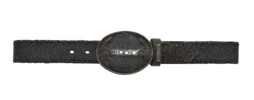 CVET1MA Genuine Stingray  Mantarraya  belt made by Cuadra boots