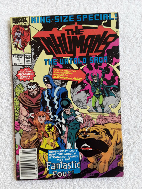 Inhumans Special #1 (Apr 1990, Marvel) Vol #1  Newsstand Fine